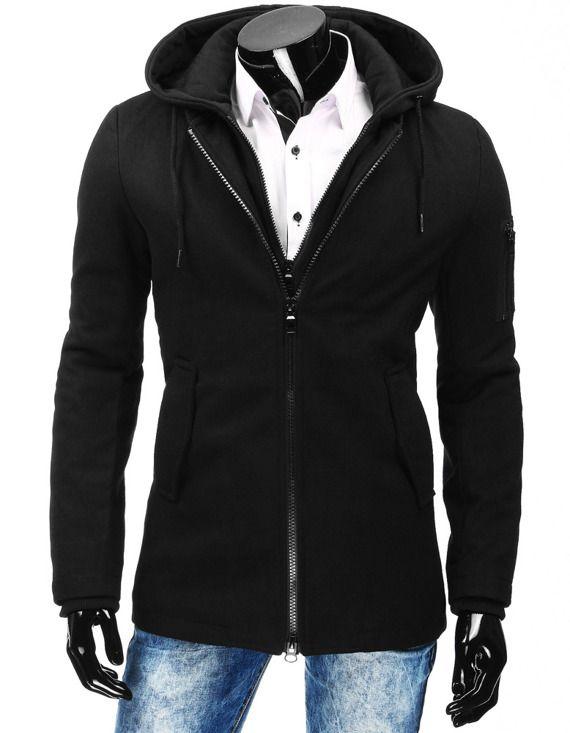 elegancki płaszcz męski